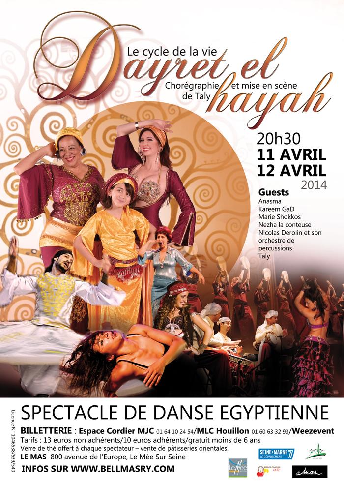 spectacle danseuses orientales à Paris