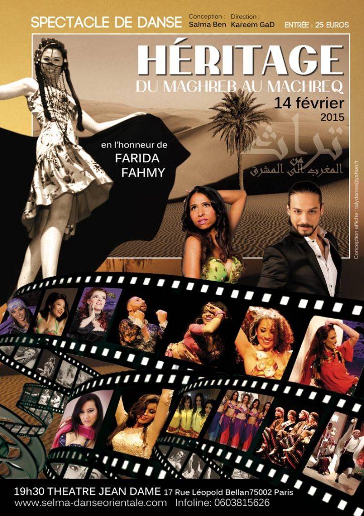 spectacle danse orientale paris