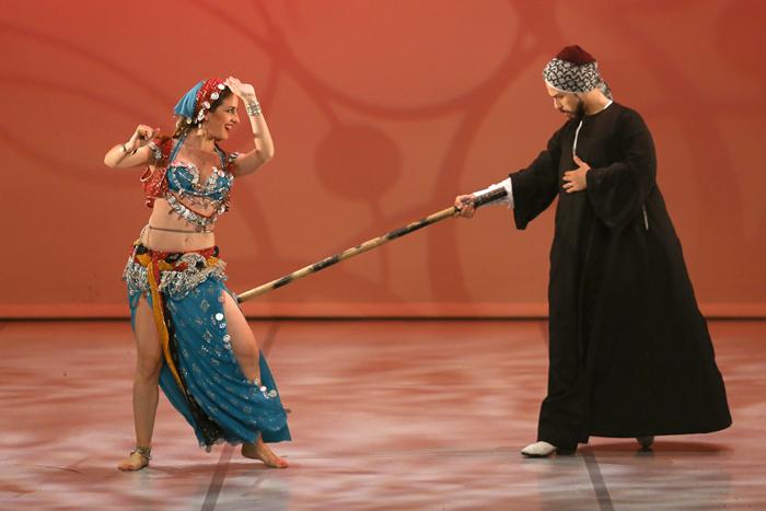 danseur oriental homme folklore