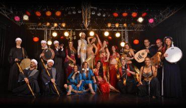 spectacle artistes danse orientale
