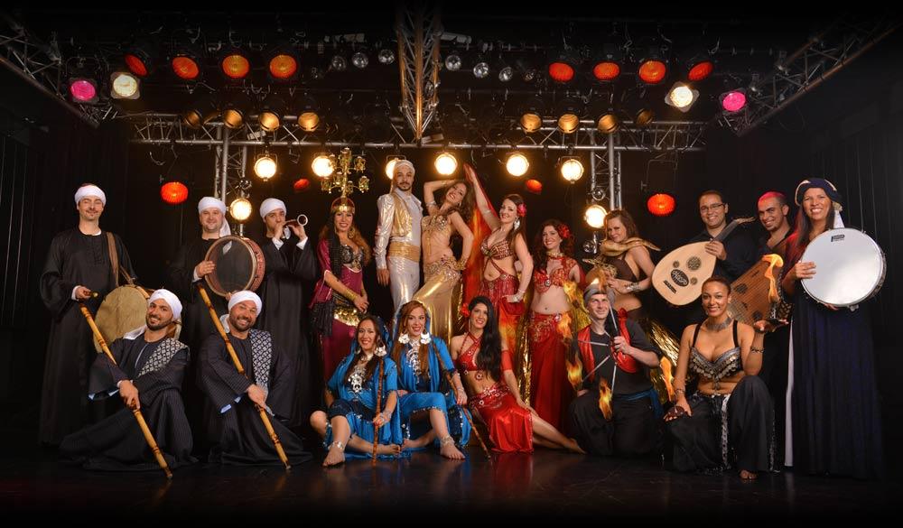 spectacle oriental artistes danse orientale