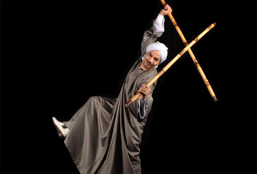 danseur orientale homme