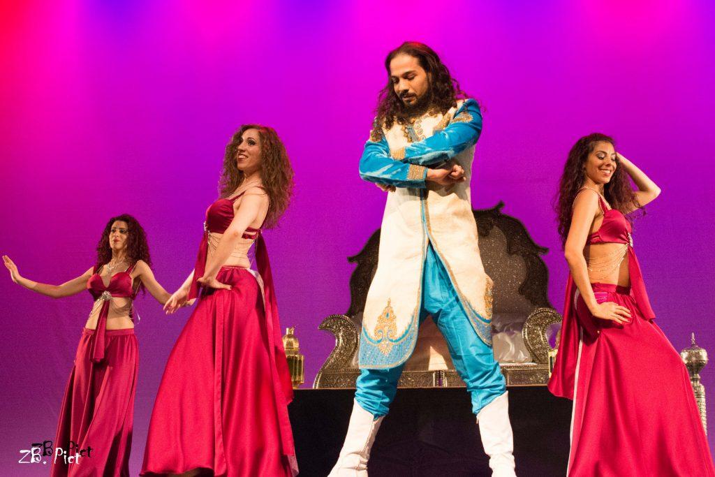 costume de danse orientale pour spectacle