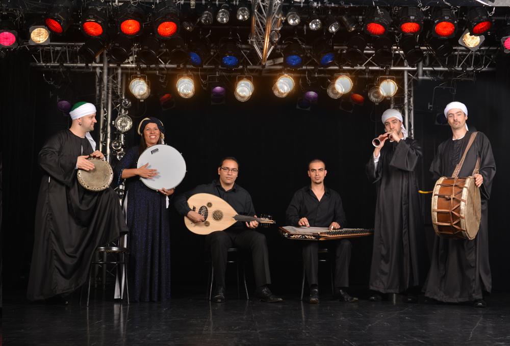 musiciens orientaux orchestre