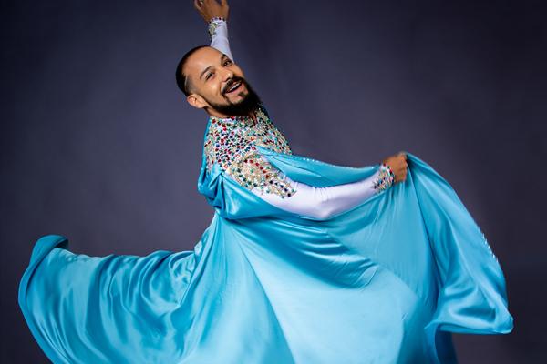 homme danseur oriental