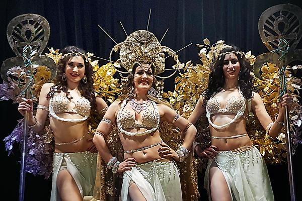 magnifiques danseuses orientales