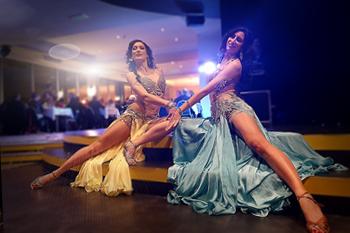 spectacle oriental avec danseuse orientale