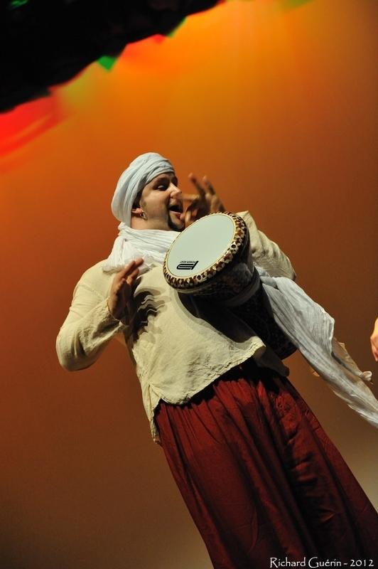 musicien oriental tabla derbouka
